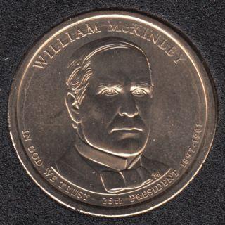 2013 D - W. McKinley - 1$