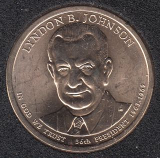 2015 P - L.B. Johnson - 1$