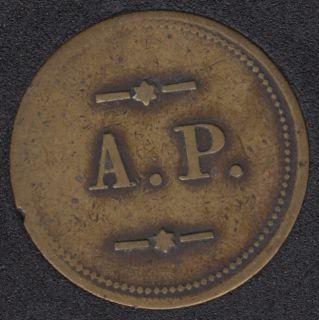 BR - Antoine Papineau - Émissions 100 pcs Breton 629