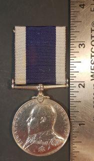 #1-238 Royal Naval Long Service & Good Conduct Medal Edward VII