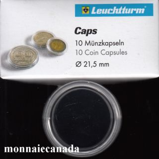 COIN CAPSULES 21,5MM
