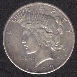 1923 S - Peace - Dollar