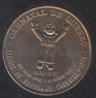 1982 Carnival of Quebec - Trade Dollar