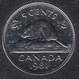 1981 - NBU - Canada 5 Cents