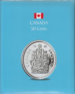 KASKADE Canadian Coin Albums - 50 Cents