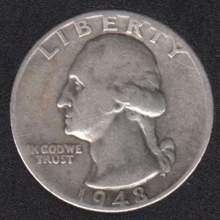 1948 - Washington - 25 Cents