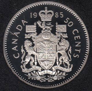 1985 - Proof - Canada 50 Cents