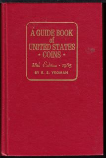 1985 - A Guide Book of United States Coins - Usagé