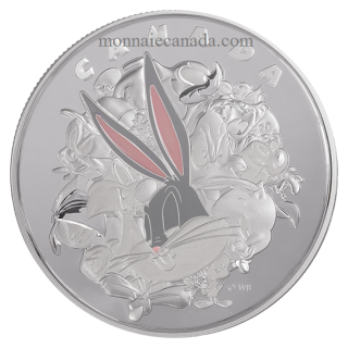 2015 - $250 - One-Kilogram Fine Silver Coin – Looney TunesTM: Ensemble Cast