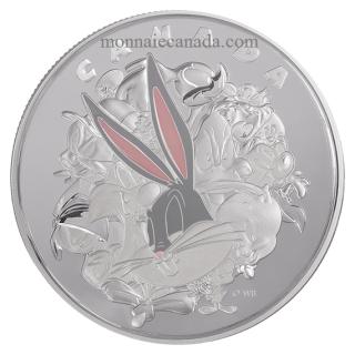 2015 - $250 - Pièce de un kilogramme en argent fin – Looney TunesMC : Personnages