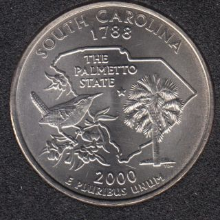 2000 D - South Carolina - 25 Cents