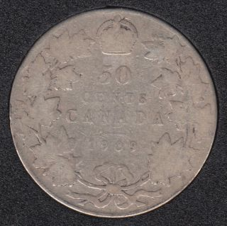 1909 - Canada 50 Cents