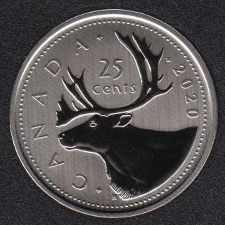 2020 - Specimen - Canada 25 Cents