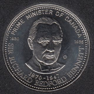 1983 - Smith Falls - Sir Richard Bedford Bennett - Prime Minister 1930 1935 - $1