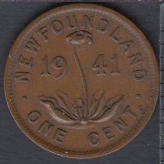 Terre Neuve - 1941 C - 1 Cent