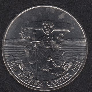 1984 - B.Unc - Jacques Cartier - Nickel - Canada Dollar