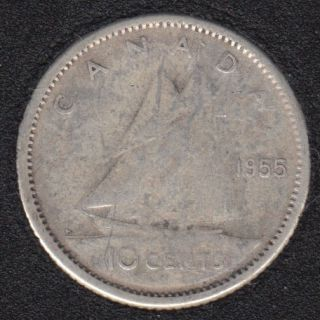 1955 - Canada 10 Cents