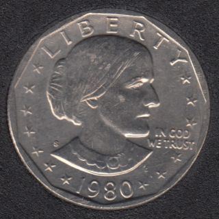 1980 S - Susan B. Anthony - Dollar