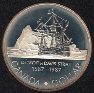 1987 - Proof - Argent - Canada Dollar