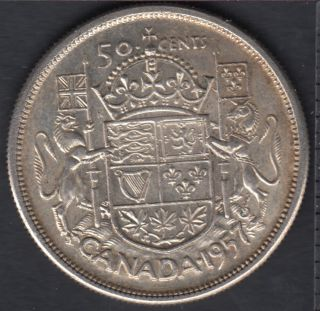 1957 - Canada 50 Cents