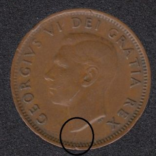 1951 - Break Bust to Rim N D to Rim - Canada Cent