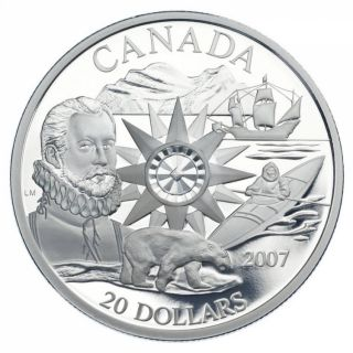 2007 - $20 - International Polar Year - Proof $20 Silver