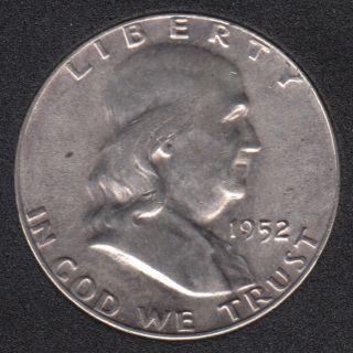 1952 - Franklin - B.Unc - 50 Cents