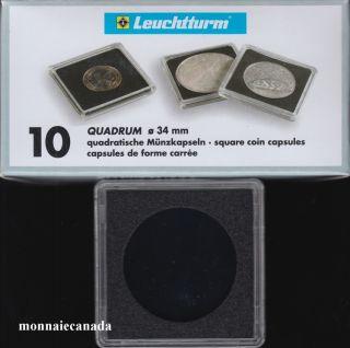 Capsules QUADRUM 34 MM