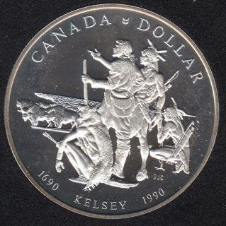 1990 - Proof - Argent - Canada Dollar