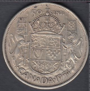 1954 - Canada 50 Cents