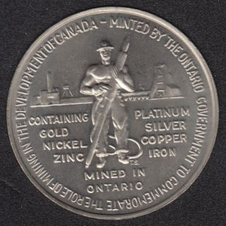 1967 -1867 - Confederation Mined in Ontario