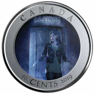 2019 - 50¢ -   Spooky Canada: HI Ottawa Jail Hostel