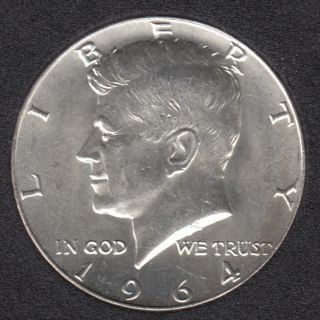 1964 - Kennedy - B.Unc - 50 Cents