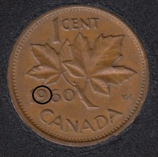 1960 - Filling 9 - Canada Cent