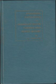 1960 - Charlton - Standard Catalogue of Canadian Coins Tokens and Paper Money - Usagé