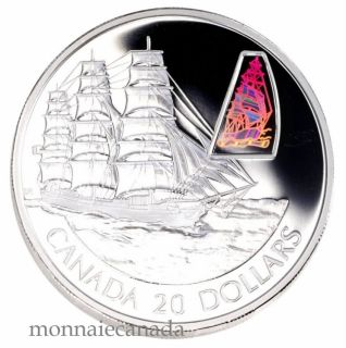 2002 - $20 - Sterling Silver Transportation - The William D. Lawrence Ship