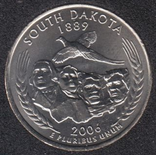 2006 P - South Dakota - 25 Cents