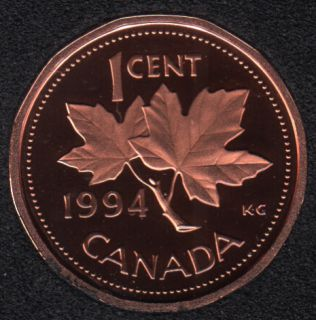 1994 - Proof - Canada Cent