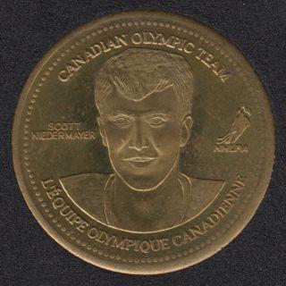 2002 - Coca Cola - Scott Niedermayer - Equipe Canada Olympique
