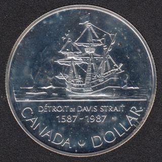 1987 - NBU - Argent - Canada Dollar