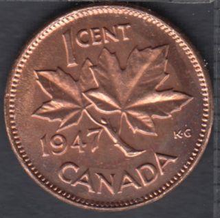 1947 - B.Unc - Canada Cent