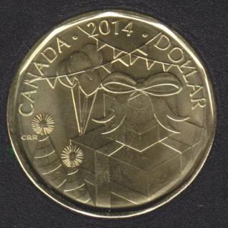 2014 - B.Unc - Birthday - Canada Dollar
