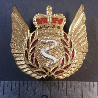 #1-22 Canada RCAF Royal Canadian Air Force Flight Crew Medical Surgeon enameled badge
