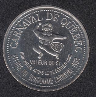1986 Carnival of Quebec - Trade Dollar