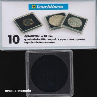 Capsules QUADRUM 40 MM