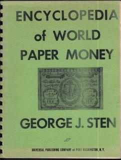 1965 - Encyclopedia of World Paper Money - Usagé