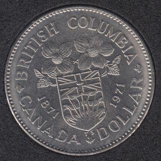 1971 - B.Unc - Nickel - Canada Dollar