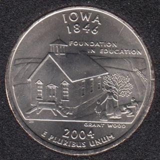2004 P - Iowa - 25 Cents