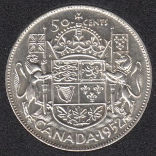 1952 - EF - Canada 50 Cents