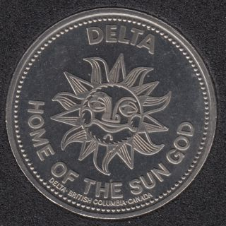 1979 - Delta B.C. Home of the Sun - $1